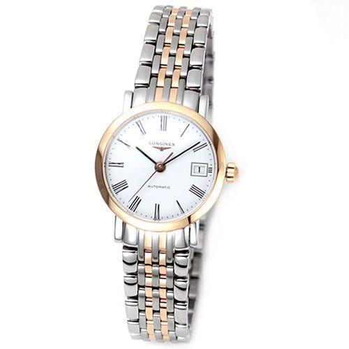 流行 【送料無料♪】ロンジン クラシカルでしなやか☆ピンクゴールドの輝き「エレガントコレクション」レディス・オートマチック腕時計 L4.309.5.11.7, 上之保村 de1dc2b8
