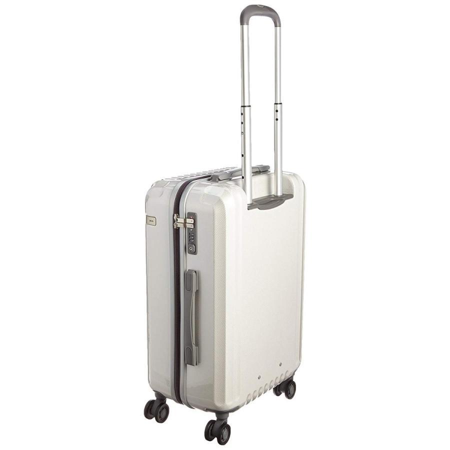 エース ace. スーツケース パリセイドZ 55cm 48L 3.5kg 双輪キャスター 05583 06 (ホワイトカーボン)