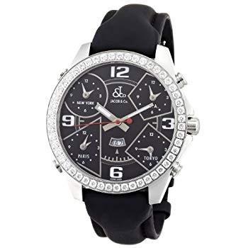 お歳暮 ジェイコブJACOB&Co. 腕時計 ファイブタイムゾーン メンズ 並行輸入品 JC-2D クォーツ メンズ JC-2D 並行輸入品, 入手困難品!ブランドグランセラー:e6806a22 --- airmodconsu.dominiotemporario.com
