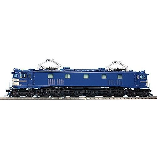 HOゲージ 72025 EF58 大窓 つらら切有 青/クリーム (警戒色) ビニロックフィルター カンタム搭載 鉄道模型 電気機関車
