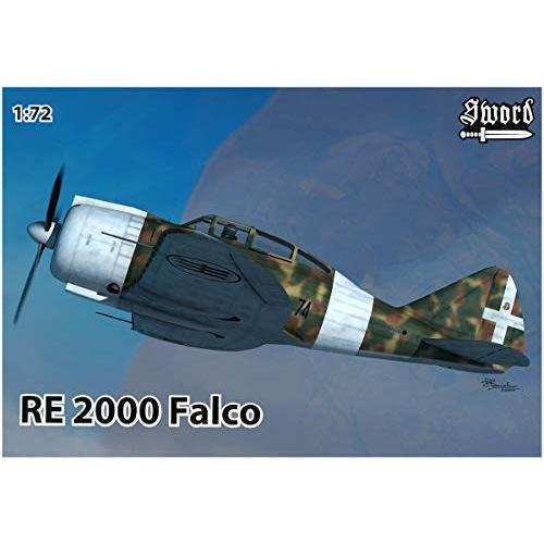 Sword 1/72 イタリア空軍 レジアーネ Re.2000 ファルコ プラモデル SWD72111