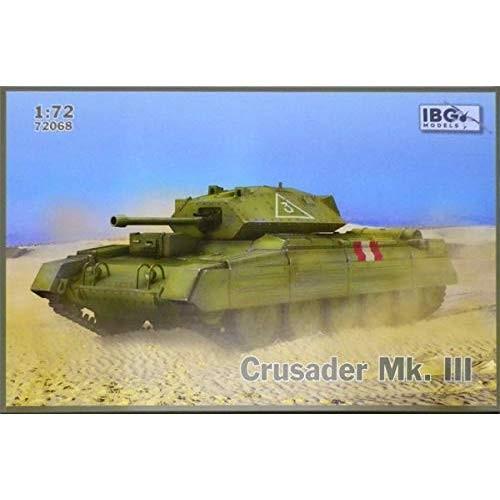 IBG 1/72 イギリス軍 クルセーダーMk.3巡航戦車6型 6ポンド砲 プラモデル PB72068