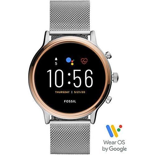 【即納!最大半額!】 フォッシル 腕時計 タッチスクリーンスマートウォッチ ジェネレーション5 FTW6061 レディース 正規輸入品 シルバー, one.heart 079fdacb