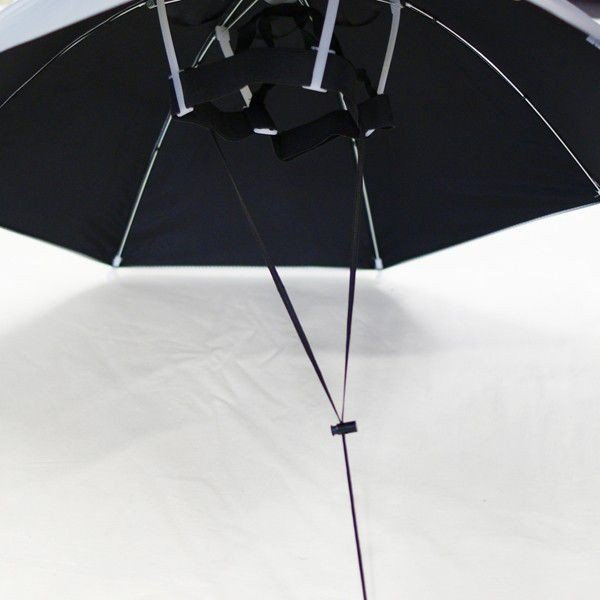 日傘 帽子 ハッと!アンブレラ 遮熱 遮光 涼しい かぶる傘 かぶる日傘 父の日 ギフト LIEBEN-3810|lieben2000|04