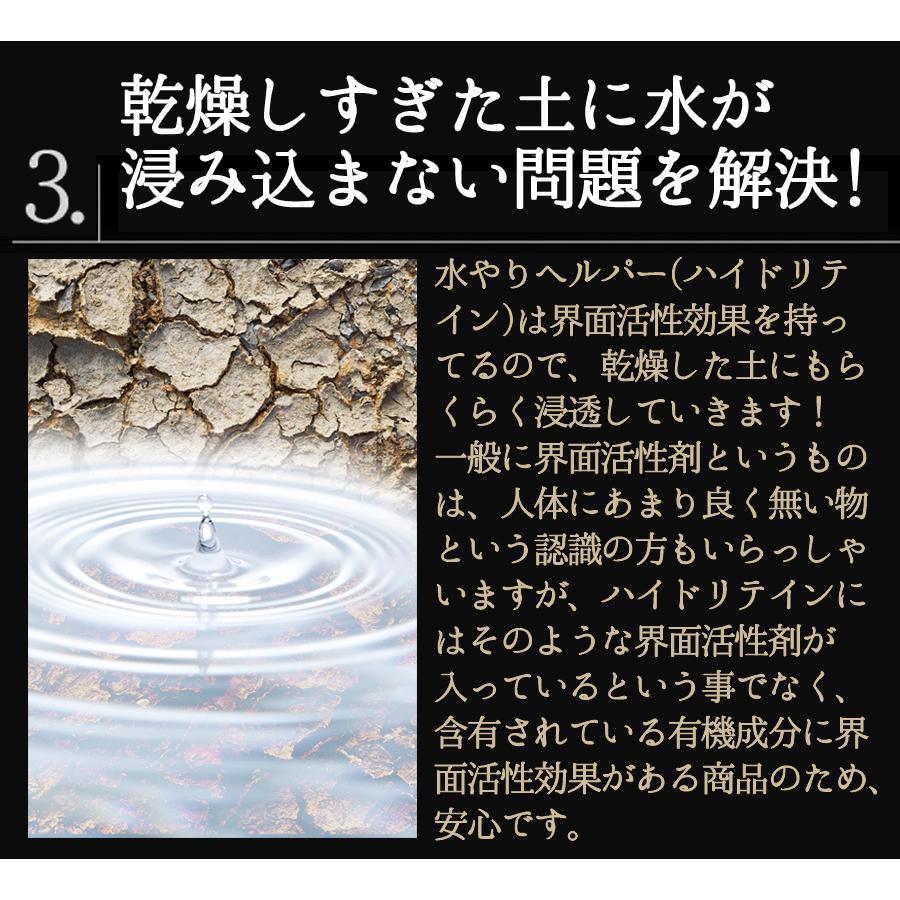 水やり回数半減 水やりヘルパー 500ml 植物用土壌保水剤 保湿材|life-eco|11