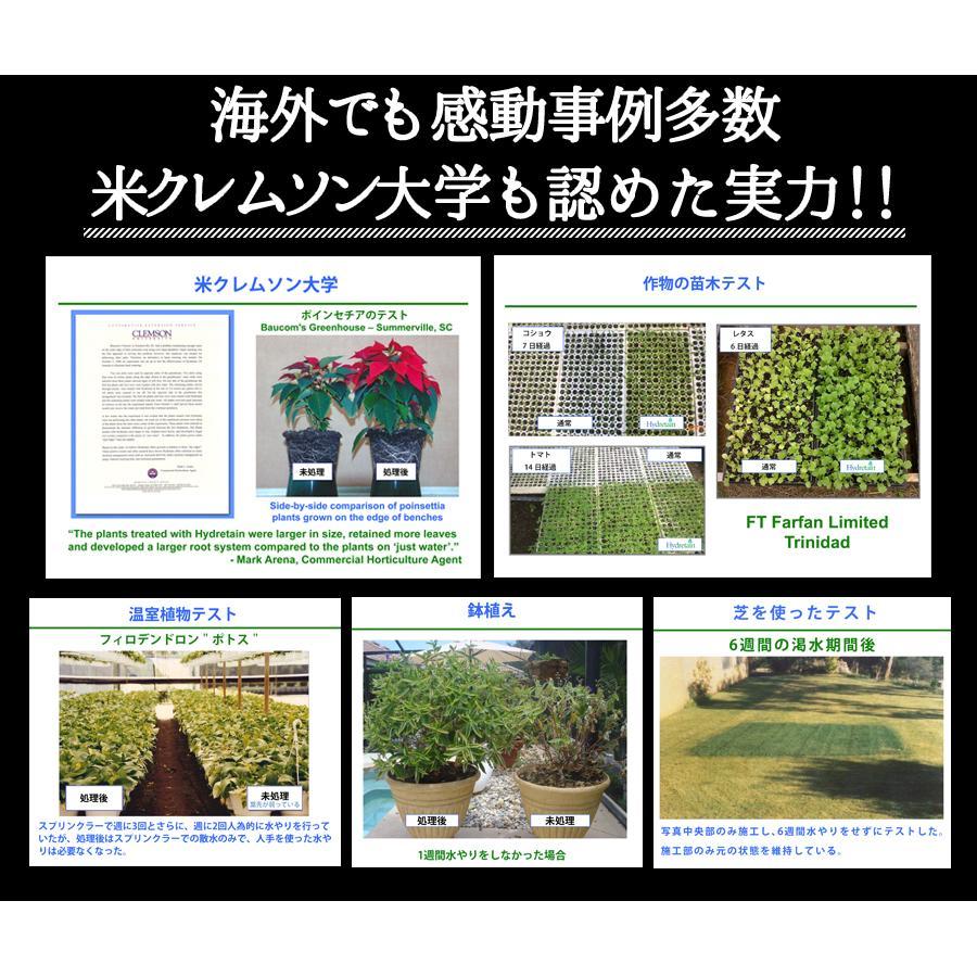 水やり回数半減 水やりヘルパー 500ml 植物用土壌保水剤 保湿材|life-eco|15