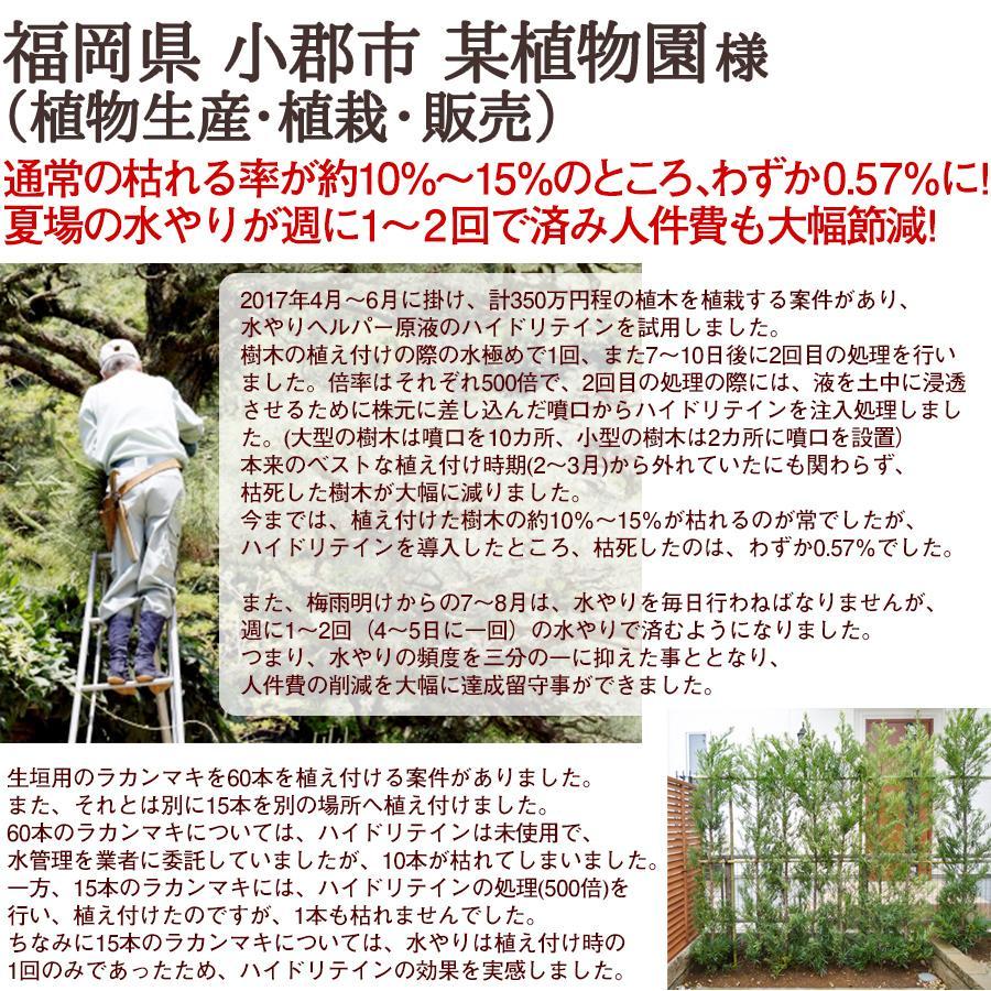水やり回数半減 水やりヘルパー 500ml 植物用土壌保水剤 保湿材|life-eco|19