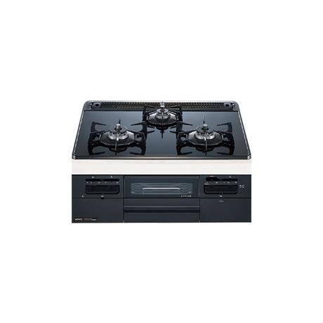 ノーリツ製 ビルトインコンロ Famiスタンダード N3WQ6RWTS 60cm幅 ブラックガラストップ ブラックフェイス 都市ガス12A 13A |life-energy-webkan