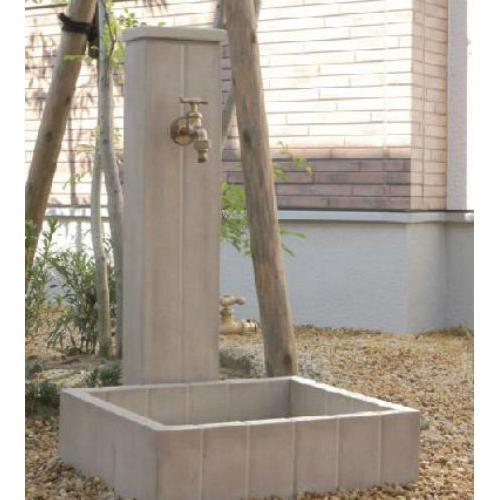 送料無料 立水栓フレウススタンドパンセットアーバンキャスト2口タイプ(蛇口なし)