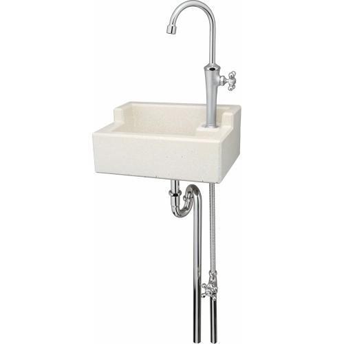 送料無料 立水栓壁面取付けタイプガーデンシンクKIT C1 ユニソン