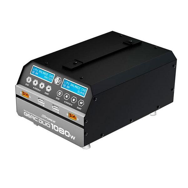 G-FORCE ジーフォース G6AC DUO 1080W 充電器(6セルLiPo専用) G0240