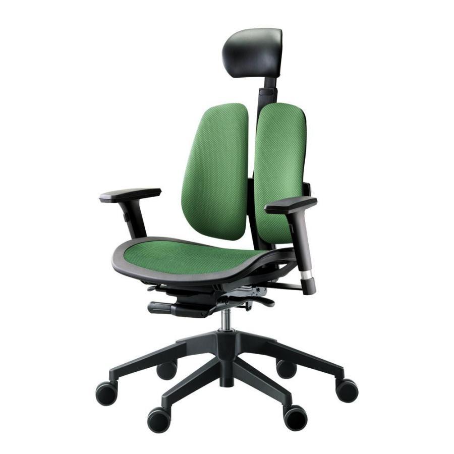 回転椅子 α60H (MESH 緑)