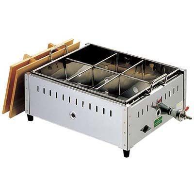 EBM-0885610 EBM 18-8 関東煮 おでん鍋 尺2(36cm)LP (EBM0885610)