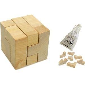 ds-1562344 (まとめ)アーテック 木製キューブパズル 【×30セット】 (ds1562344)