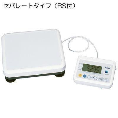 タニタ 23-3004-0307 精密体重計(検定品) WB-150 規格:セパレートタイプ(RS付) (重力補正:7区仕様) (2330040307)