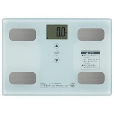 【 開梱 設置?無料 】 HB-KG11R1-W (HBKG11R1W) オーム電機 体重体組成計 ホワイト-健康管理、計測計