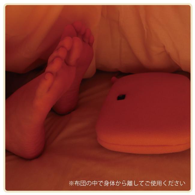 ライフジョイ 電気あんか 平形 温度調節つき 電気 湯たんぽ 省エネ 16cm×23cm ピンク AH601|lifejoy|02