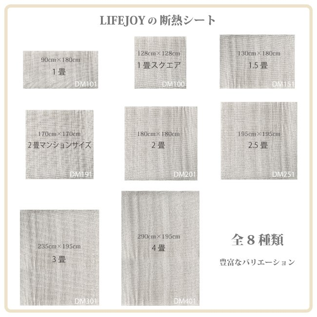 ライフジョイ 省エネ 断熱シート 1.5畳 ホットカーペット 専用 床用 130cm×180cm シルバー DM151|lifejoy|06