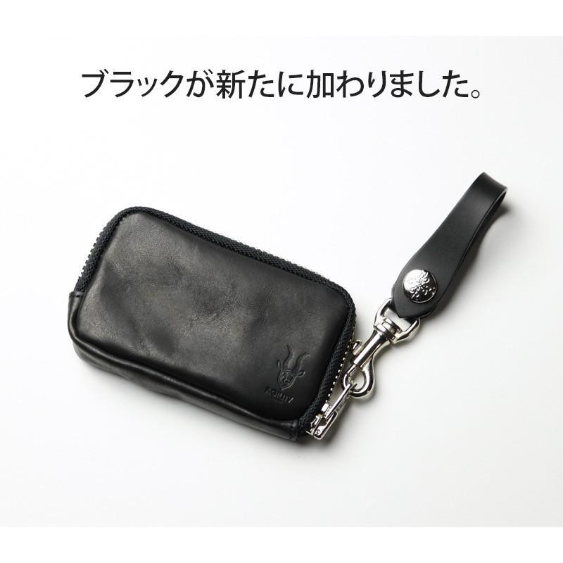 キーケース スマートキー 牛革 レザー 本革 革 AGILITY アジリティ 日本製 lifelightlove-y 10