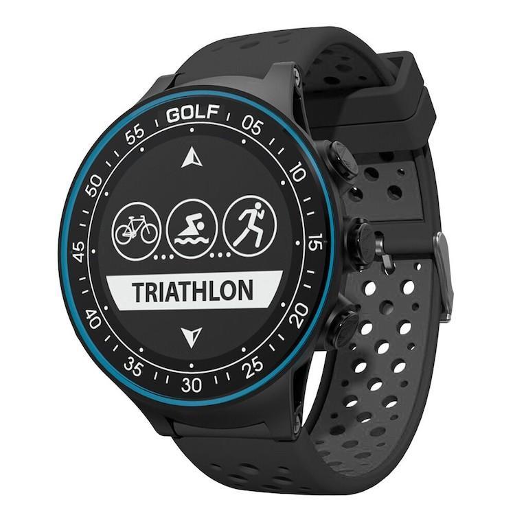 GPS搭載マルチスポーツウォッチ 心拍センサー搭載 多彩なスポーツモード&フィットネスモード ゴルフ機能充実 青tooth4.0 日本語マニュアル LP-TW-410