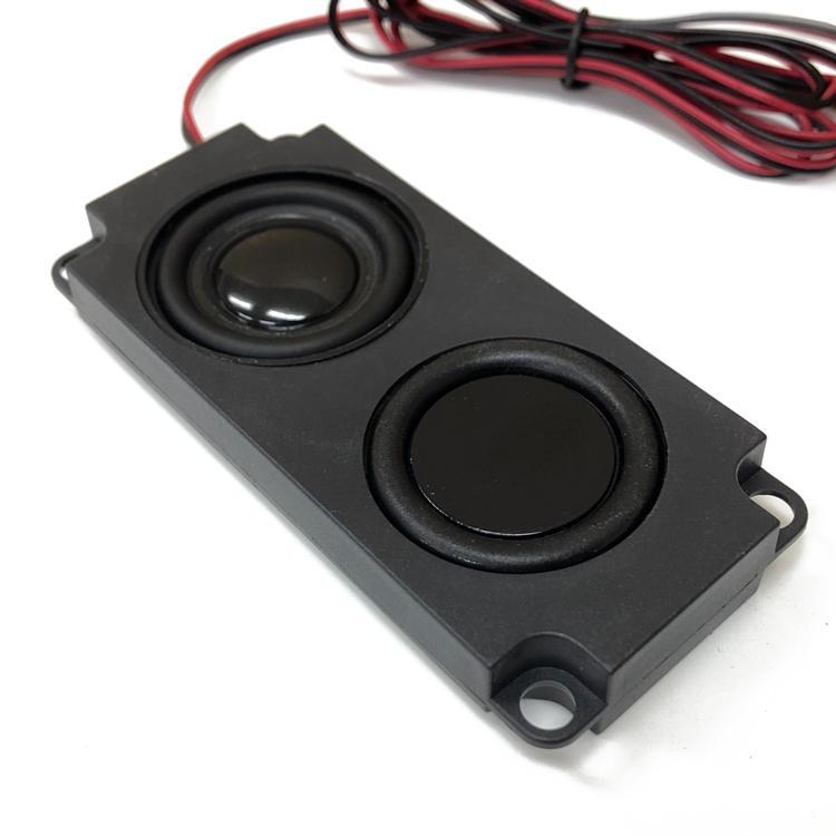ミニスピーカーユニット 4Ω5W パッシブスピーカー ダブルダイヤフラム 小型軽量 薄型設計 フルレンジスピーカー 広音域 高音質 テレビスピーカー LP-PAS10045|lifepowershop|02