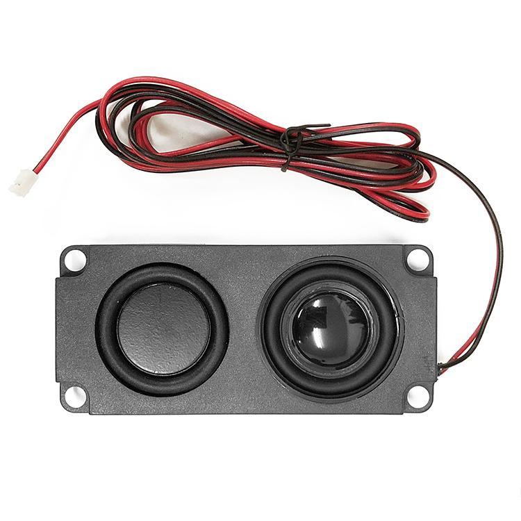 ミニスピーカーユニット 4Ω5W パッシブスピーカー ダブルダイヤフラム 小型軽量 薄型設計 フルレンジスピーカー 広音域 高音質 テレビスピーカー LP-PAS10045|lifepowershop|03