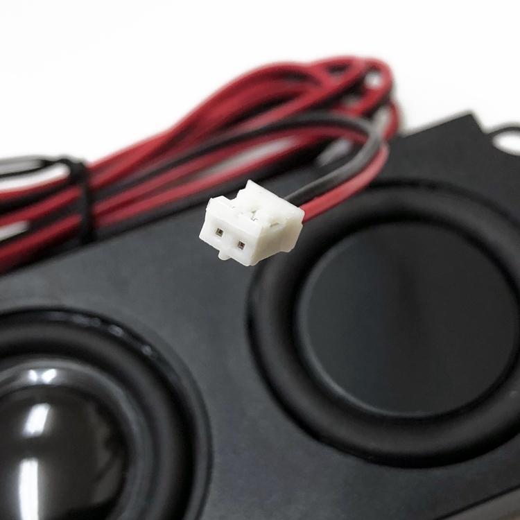 ミニスピーカーユニット 4Ω5W パッシブスピーカー ダブルダイヤフラム 小型軽量 薄型設計 フルレンジスピーカー 広音域 高音質 テレビスピーカー LP-PAS10045|lifepowershop|05