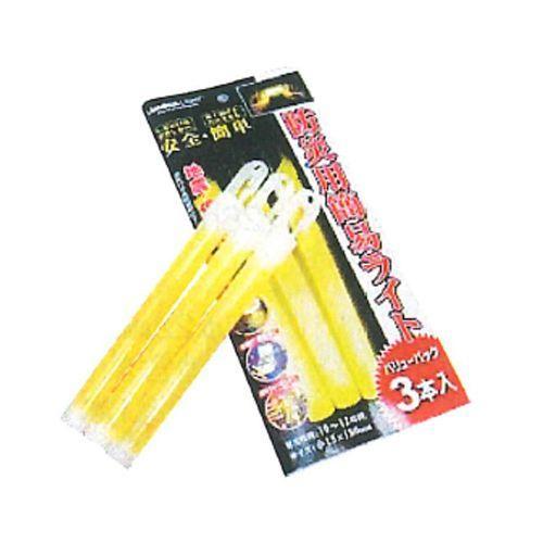 ルミカ 防災用簡易ライト 防災用簡易ライト 防災用簡易ライト バリューパック 3本×20 3d3
