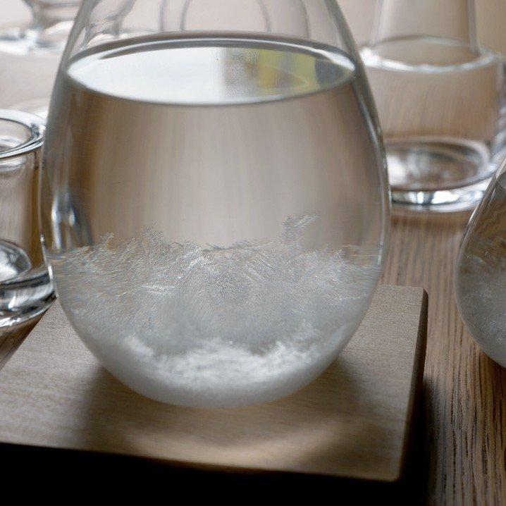 テンポドロップ 正規品 100percent ストームグラス Tempo Drop インテリア ガラス しずく型 置物|lifestyleweb|04