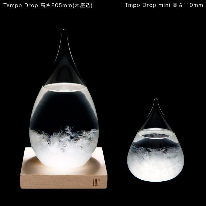 テンポドロップ 正規品 100percent ストームグラス Tempo Drop インテリア ガラス しずく型 置物|lifestyleweb|06