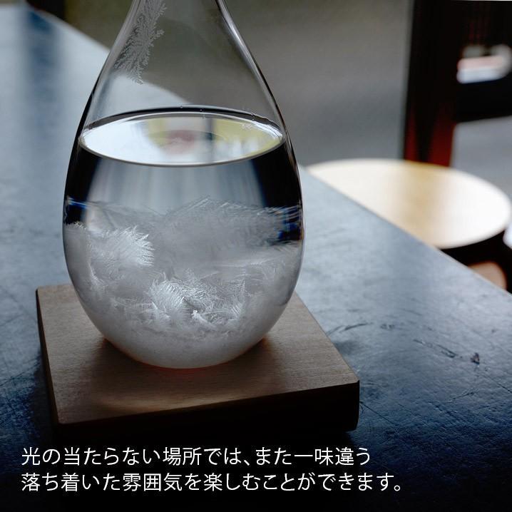 テンポドロップ 正規品 100percent ストームグラス Tempo Drop インテリア ガラス しずく型 置物|lifestyleweb|07