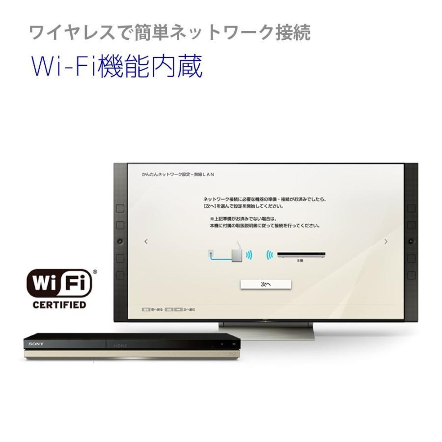 ソニー SONY ブルーレイディスク/DVDレコーダー 1TB 2チューナー 2番組同時録画 外付けHDD対応 無線LAN内蔵モデル BDZ
