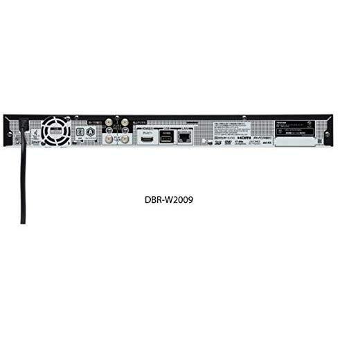 東芝 ブルーレイディスクレコーダー 時短 レグザブルーレイ 2TB HDD内蔵 2番組同時録画 4K対応 DBR-W2009
