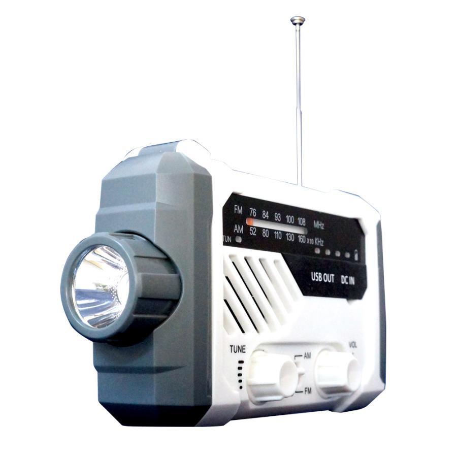 手回しラジオ 手回し充電 ラジオ 防災ラジオ 手回し 読書 サイレン ソーラー スマホ 充電 LEDライト 乾電池 懐中電灯 FM/AMラジオ 非常用 緊急用  送無 XG754 lightingworld 14