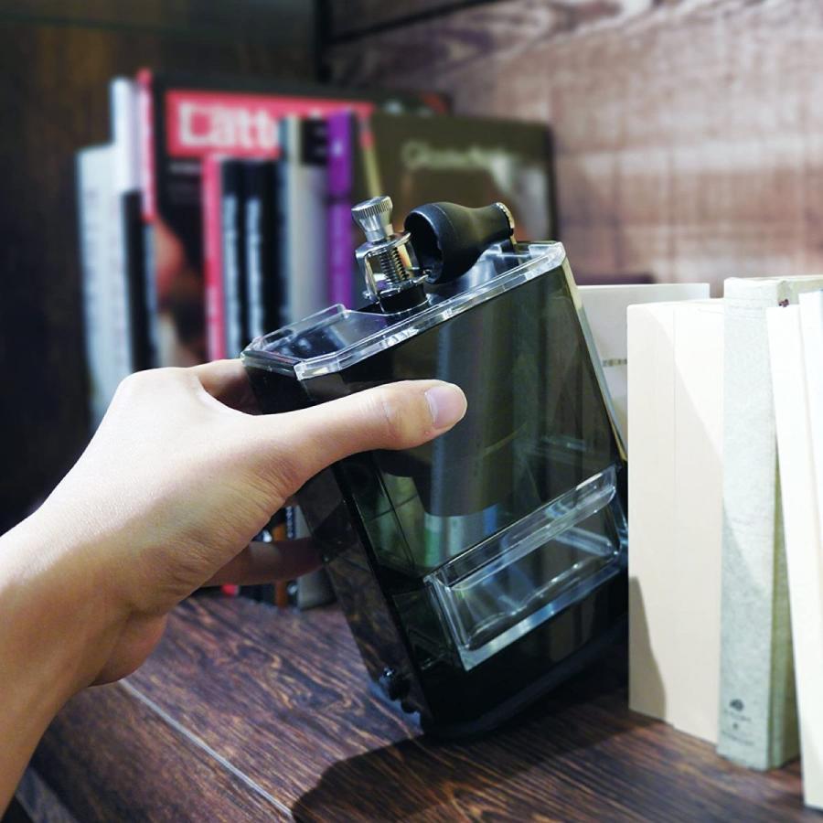 HARIO (ハリオ) 手挽き コーヒーミル クリア コーヒーグラインダー MXR-2TB ブラック lightlyrow 03