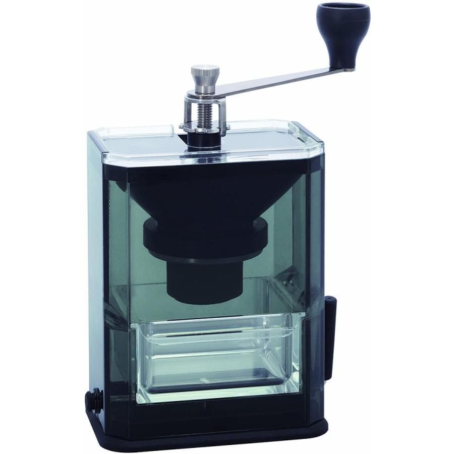 HARIO (ハリオ) 手挽き コーヒーミル クリア コーヒーグラインダー MXR-2TB ブラック lightlyrow 05