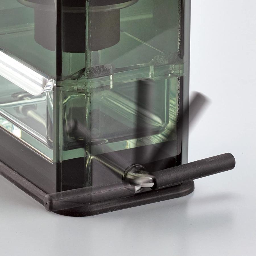 HARIO (ハリオ) 手挽き コーヒーミル クリア コーヒーグラインダー MXR-2TB ブラック lightlyrow 06