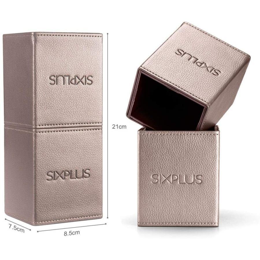 SIXPLUS 魅力のコーヒー色 メイクブラシ 15本セット(コーヒー色)|lightlyrow|03