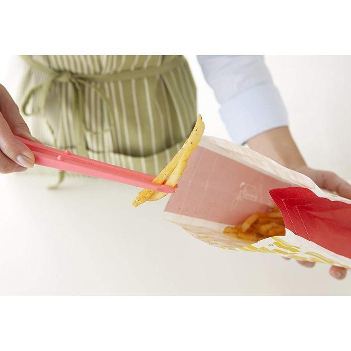 ポテトチップス トング ポテトング ブラック ブルー PCT-01 PCT-04 サンクラフト 手 指 汚れない 漬物 のり 箸 つかむ はさむ おやつ トング 送料無料|lilaqueen|03