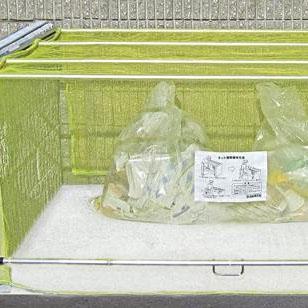 ダイケン ゴミ収集庫 クリーンストッカー ネットタイプ CKA-1612 送料無料  代引き不可