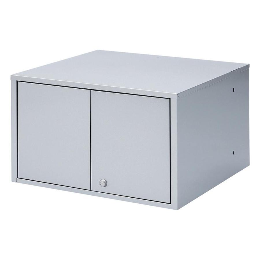 サンワサプライ 液晶・プラズマTVスタンド用セキュリティボックス CR-PLBOX2N 送料無料  代引き不可