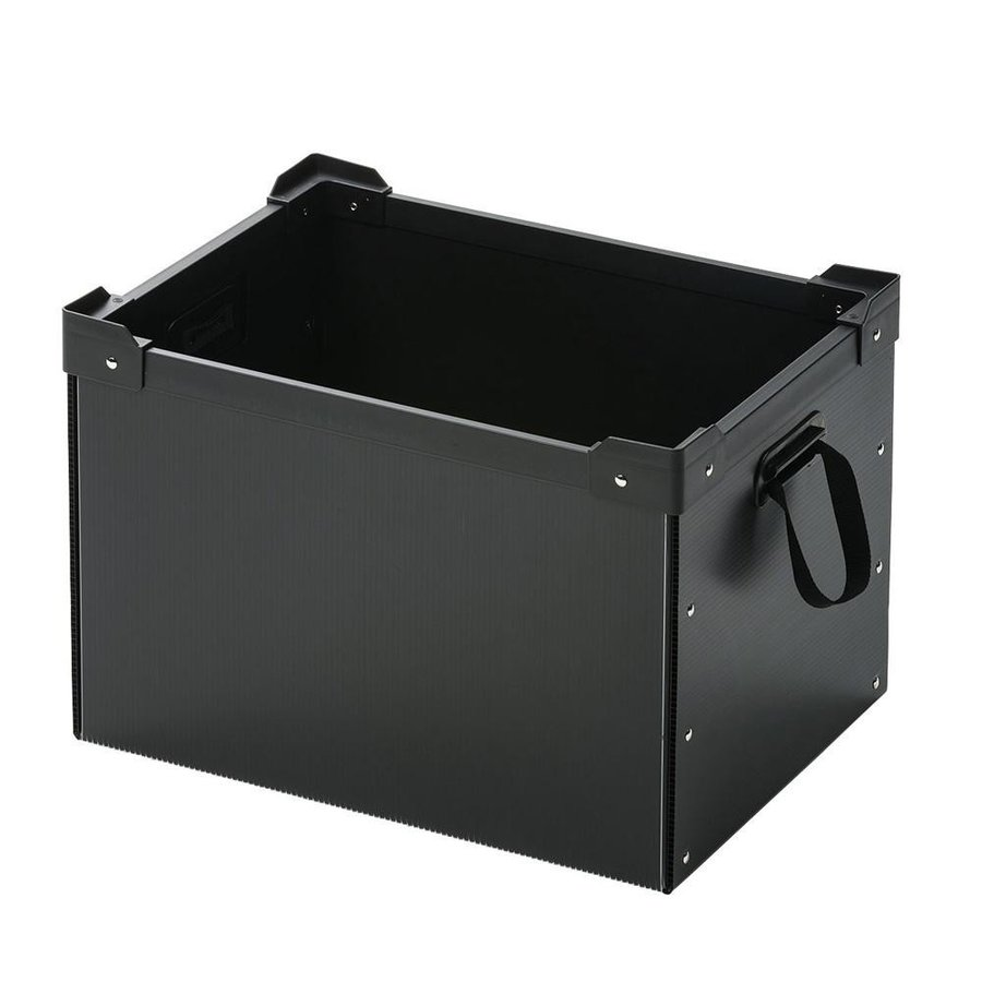 サンワサプライ プラダン製マルチ収納ケース PD-BOX4BK 送料無料 PD-BOX4BK 送料無料
