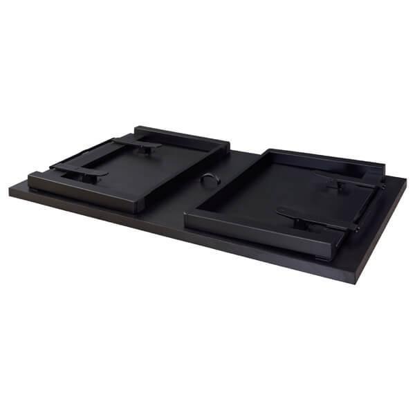 お座敷 法事テーブル 幅150cm 木製 折畳 低め ダイニングテーブル テーブル 和室 料亭 仏間 店舗 食卓 4人掛け シンプル BCT-215|lily-birch|06