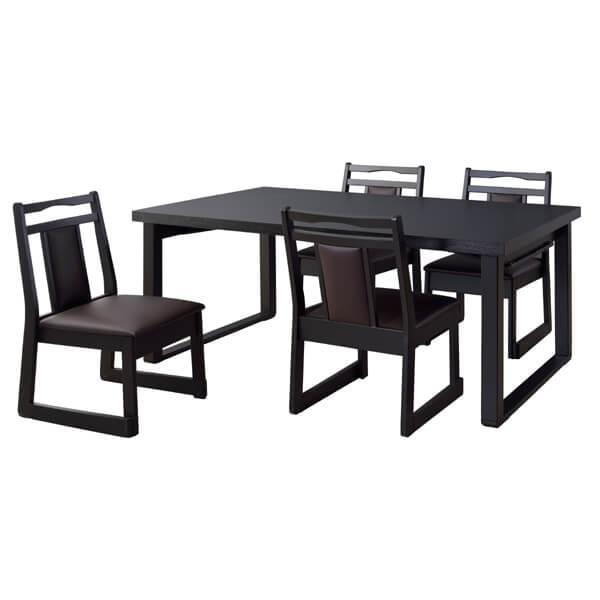 お座敷 法事テーブル 幅150cm 木製 折畳 低め ダイニングテーブル テーブル 和室 料亭 仏間 店舗 食卓 4人掛け シンプル BCT-215|lily-birch|07