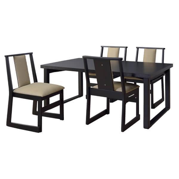 お座敷 法事テーブル 幅150cm 木製 折畳 低め ダイニングテーブル テーブル 和室 料亭 仏間 店舗 食卓 4人掛け シンプル BCT-215|lily-birch|08