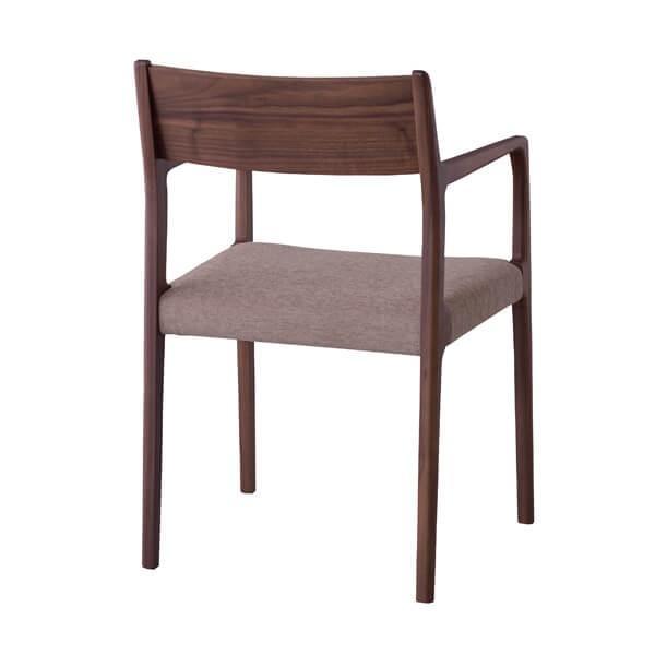 インダストリアル アームチェア リビングチェア イス 椅子 チェアー 天然木 ウォルナット チェア 天然木 日本国産 北欧 カフェ 肘付き JPC-122WAL lily-birch 03