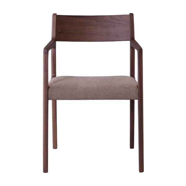 インダストリアル アームチェア リビングチェア イス 椅子 チェアー 天然木 ウォルナット チェア 天然木 日本国産 北欧 カフェ 肘付き JPC-122WAL lily-birch 04