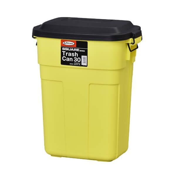 トラッシュカン 30L アメリカン ダストボックス おしゃれ スリム ふた付き ゴミ箱 ごみ ロック式 カラフル おむつ 生ゴミ 屋外 屋内 引越 L-941|lily-birch|06