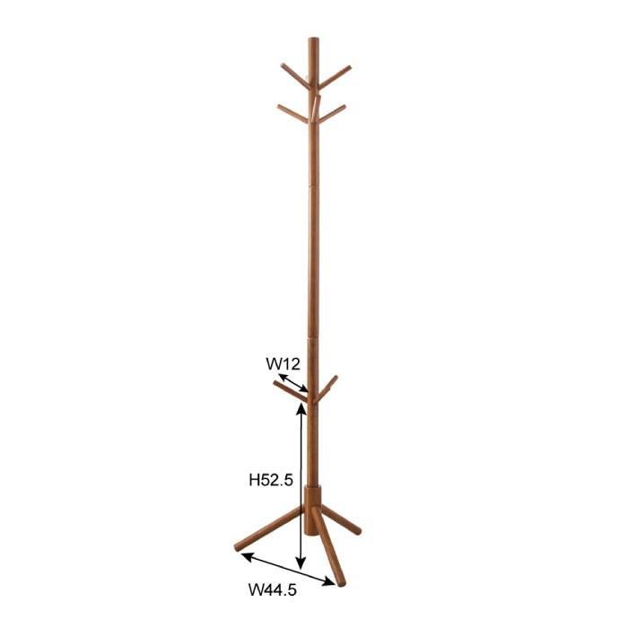 ポールハンガー コートハンガー 高さ174cm ハンガー 北欧 おしゃれ アンティーク ナチュラル レトロ LFS-009BR lily-birch 02