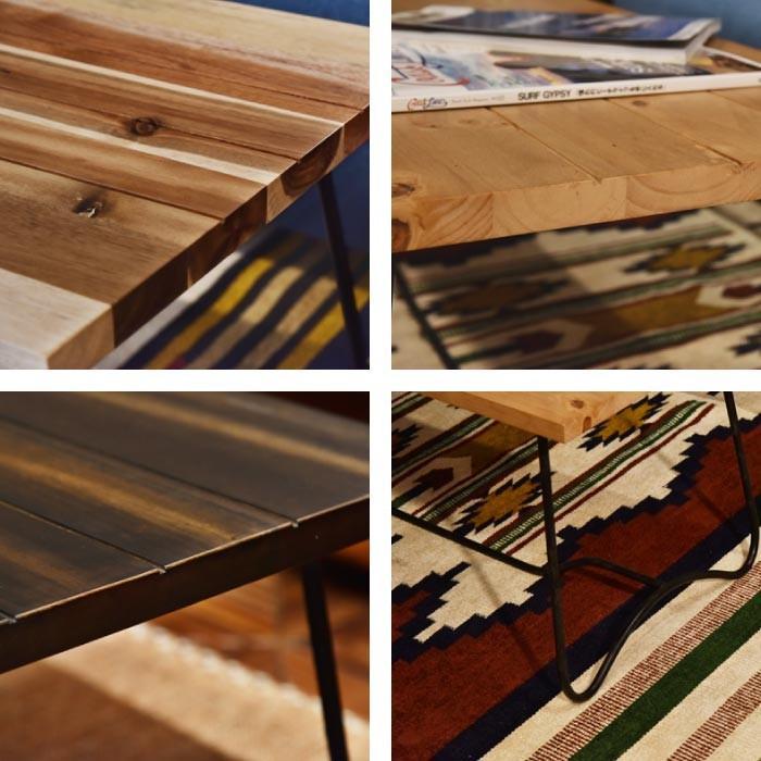 北欧 モダン コーヒーテーブル テーブル 幅100cm アンティーク  ナチュラル 北欧 モダン 西海岸 ナチュラルテイスト NW-111NA NW-111MBR NW-111DBR lily-birch 03